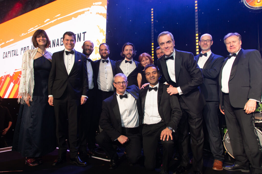 Capital management Utility Week Awards 2019 - Smaller Winners - Aniseed Photo-7