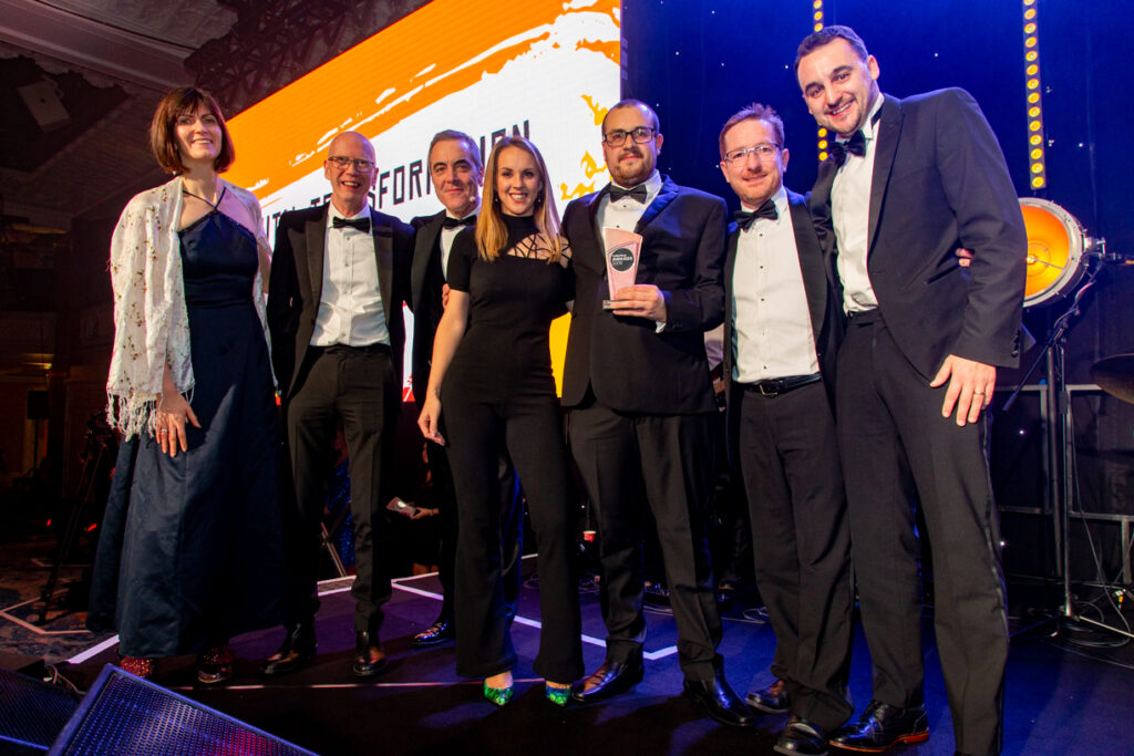 Utility Week Awards 2019 - Smaller Winners - Aniseed Photo-13