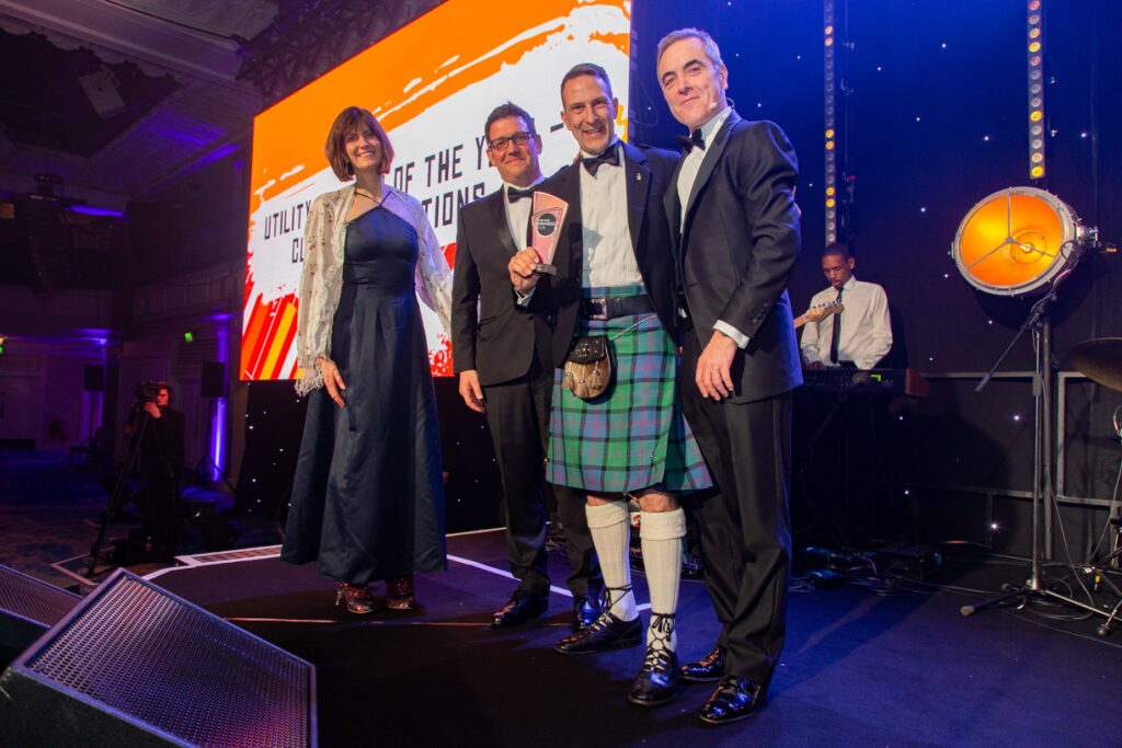 Utility Week Awards 2019 - Smaller Winners - Aniseed Photo-15