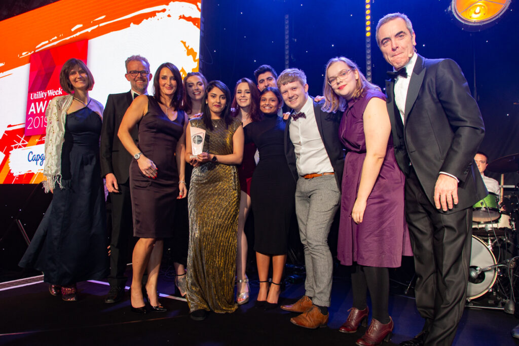 Utility Week Awards 2019 - Smaller Winners - Aniseed Photo-22